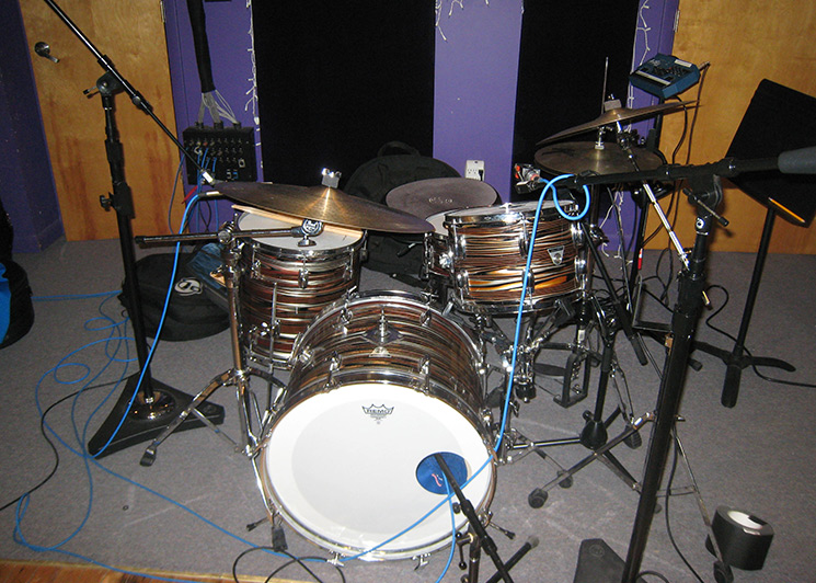 Two Track Live Drum Micing